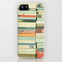 Bookworm iPhone Case by Cassia Beck | Society6