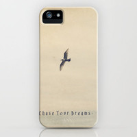 Chase Your Dreams iPhone Case by Christine Hall | Society6