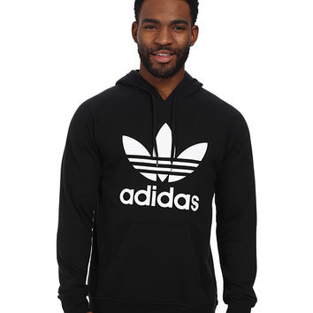 adidas Originals Original Trefoil Hoodie Black/White - Zappos.com Free Shipping BOTH Ways