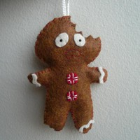 Terrified Gingerbread Man - Funny C.. on Luulla