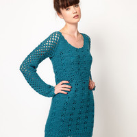Komodo 'Lori' Dress in Crochet Knit at asos.com