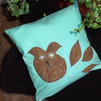Decorative Cover For Pillows OWL - .. on Luulla