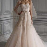Spring 2012 Monique Lhuillier Romantic Wedding Dresses |Shibawi Wedding Dress