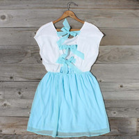 Tied Chiffon Dress in Mint, Sweet Women&#x27;s Country Clothing