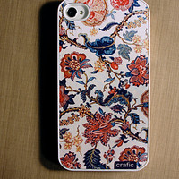 iPhone 4 case iPhone 4s case - Flower Texture iPhone Case