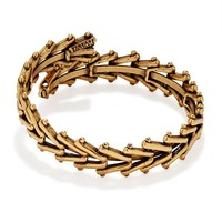 Rafaelian Gold Men's Chain Wrap
