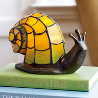 Stained Glass Snail Accent Light - Wind and Weather
