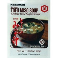 Kikkoman Instant Tofu Miso Soup (Soybean Paste Soup with Tofu) - 9 Packets (3.15 Oz) $11.52