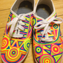 33 - NEON SHOES SIZE 9 -