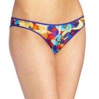 On Gossamer Women`s Triple Twist Mesh Hip Bikini $16.00