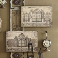 Set of 2 Grand Entry Prints from Through the Country Door
