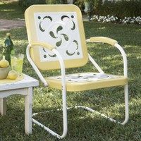 Buttercup Vintage-Style Lawn Chair from Through the Country Door