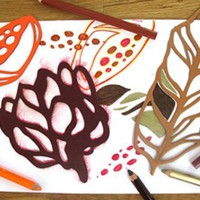 Karen Kimmel Studios: Abstract Stencils - Stencils for Kids