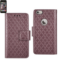 iphone 6 plus - wingfolio shiny rhombus pattern case