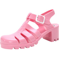 PRE-ORDER PINK JELLY SANDALS