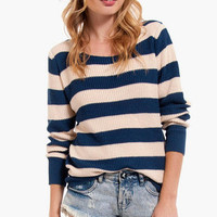 Nautical Striped Sweater $42