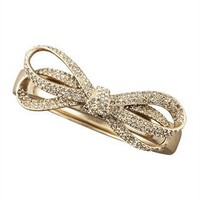 CUSP | Accessories | Jewelry | All Jewelry | Pave Bow Bracelet