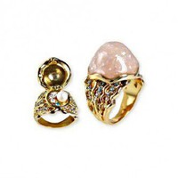 Disney Couture Little Mermaid Secret Pearl Ring  at Zentosa