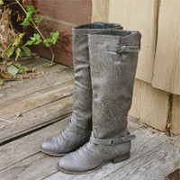 Smokestack Boots in Gray, Sweet Country Inspired Shoes