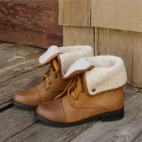 Summit Cuffed Boots, Sweet Country Inspired Shoes