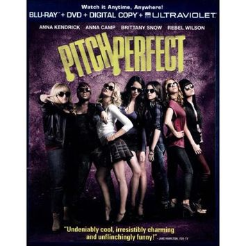Pitch Perfect (Blu-ray/DVD) (Digital Copy) (UV Digital Copy) (with $7.50 Fandango Cash)