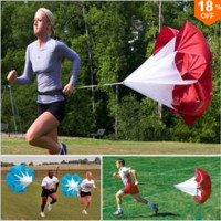 56inch Drills Speed Training Resistance Running Parachute Chute FREE SHIPPING