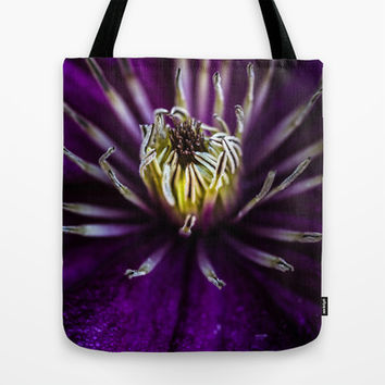 Flower universe Tote Bag by HappyMelvin
