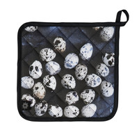 Quail Eggs Pot Holders