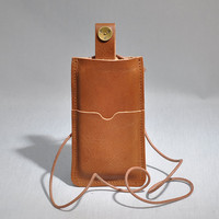 iPhone 5 Cover Leather Tan - P.A.P Sweden
