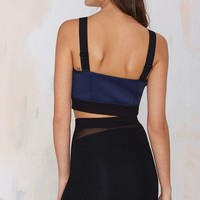 Nasty Gal Just Hold On Mesh Skirt