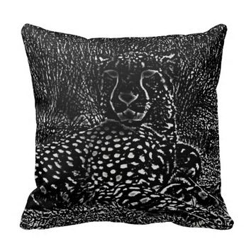 Cheetah Pillow