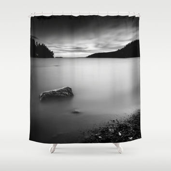 Shredder Shower Curtain by HappyMelvin