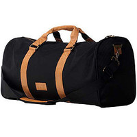 The Flud Duffle Bag in Black & Tan