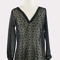 Zepplin Top in Black