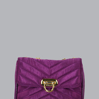 Satin Cross Body Clutch