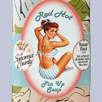 Red Hot Pin-up Tuberose Bar Soap
