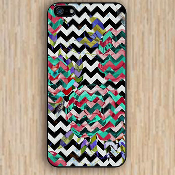iPhone 6 case rose colorful black and white chevron iphone case,ipod case,samsung galaxy case available plastic rubber case waterproof B012