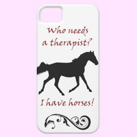 Cute Horse Therapist iPhone 5 Case-Mate Case from Zazzle.com