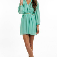 Tara Chiffon Dress $58