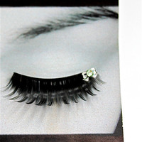 Harajuku White Bow False Eyelashes Buy 2 get 1 FREE