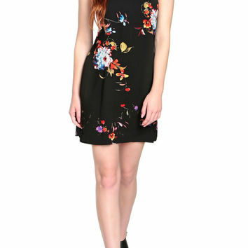 Sophie Floral Halter Dress