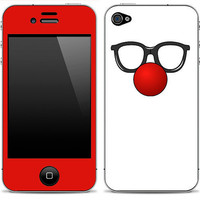 Funny glasses iPhone Skin  FREE SHIPPING