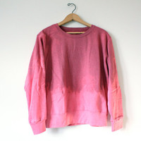 Ombre Pink Sweatshirt
