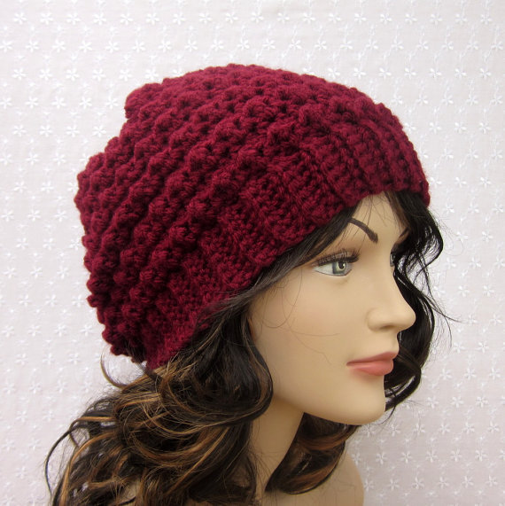 free crochet slouchy beanie hat pattern Car Tuning