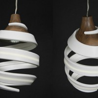 Gregg Parsell's ORIGIN Pendant Lamp Evolves Elegantly from Recycled Materials | Inhabitat - Green Design Will Save the World