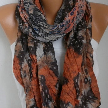 Spring Celebrations Fashion Scarf Mother's Day Gift Shawl Cowl Scarf Cotton Gift Ideas For Her Women's Fashion Accessories