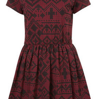 Petite Fairisle Flippy Dress - New In This Week  - New In