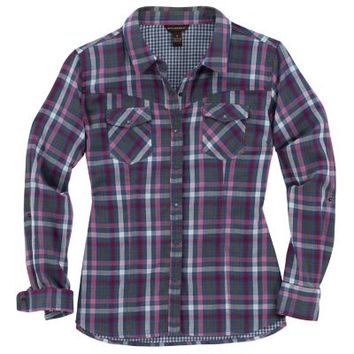 Bit & Bridle™ Ladies' Long Sleeve Western Style Plaid Shirt