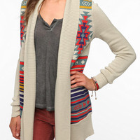 Ecote Intarsia Cardigan