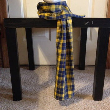 Boy's Flannel Plaid Scarf from Nicole Ray